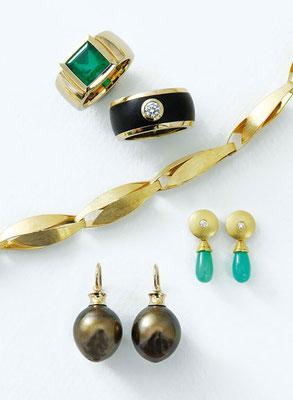 Kette - 750/- Gold / Handarbeit - - - - - - € 1.580,-