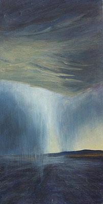 Stormy Weather ll, 50 x 100 cm, Acryl/ Mischtechnik