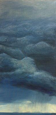 Stormy Weather lll, 50 x 100 cm, Acryl/ Mischtechnik