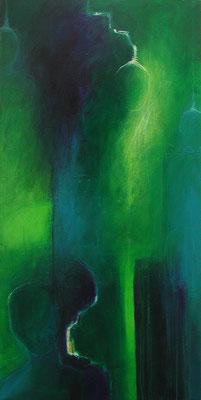 Waldmeister, 50 x 140 cm, Acryl
