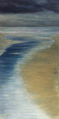 Stormy Weather llll, 50 x 100 cm, Acryl/ Mischtechnik