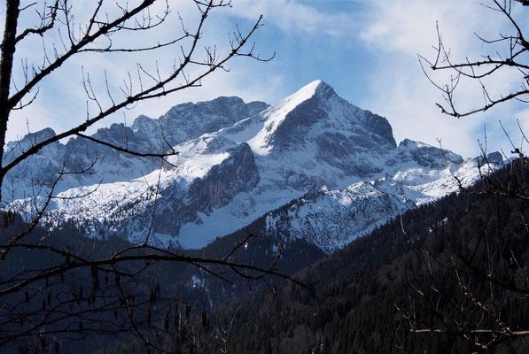 Wunderschöner Blick zur Alpspitze