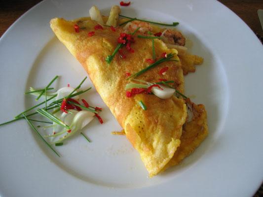 Spargel Omelette