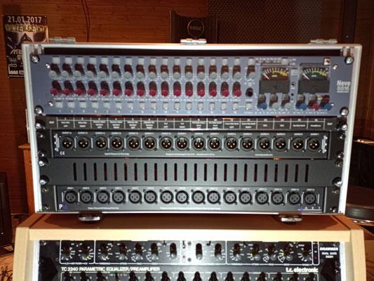 Neve 8816 Summing Mixer Rack