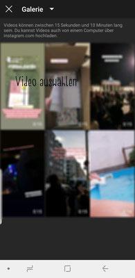 Video auswählen
