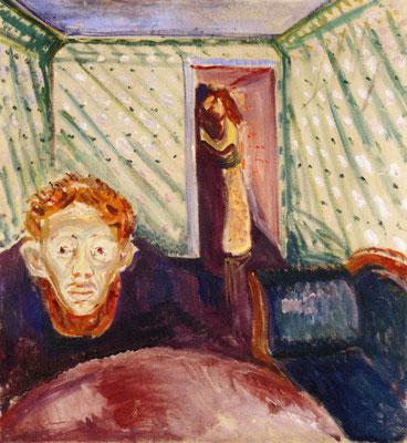 Eifersucht - Edvard Munch (Foto: CC0) - Praxis für Psychotherapie, Barbara Schlemmer, Dipl. Psychologin