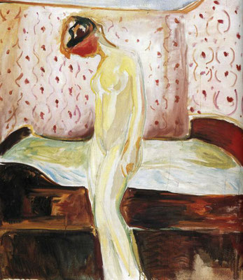 Weinende Frau - Edvard Munch (Foto: CC0) - Praxis für Psychotherapie, Barbara Schlemmer, Dipl. Psychologin