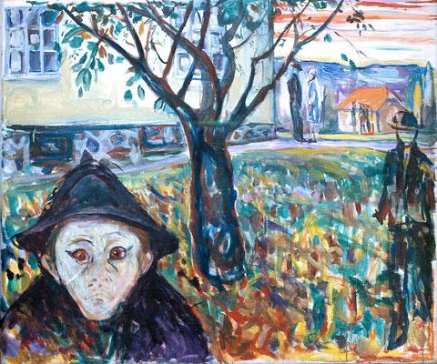Angst haben - Edvard Munch (Foto: CC0) - Praxis für Psychotherapie, Barbara Schlemmer, Dipl. Psychologin