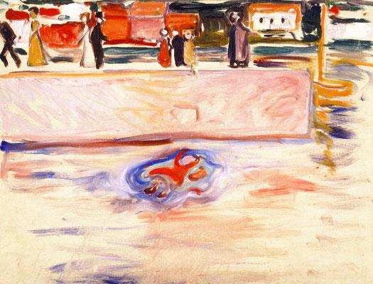Ertrinkendes KInd - Edvard Munch (Foto: CC0) - Praxis für Psychotherapie, Barbara Schlemmer, Dipl. Psychologin