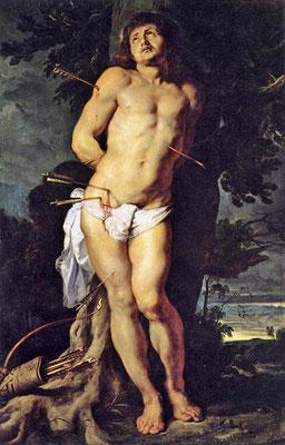 Martyrium des Heiligen Sebastian - Peter Paul Rubens (Foto: CC0) - Praxis für Psychotherapie, Barbara Schlemmer, Dipl. Psychologin