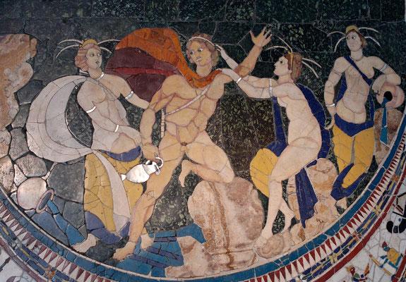 Hylas und die Nymphen - Basilika von Junius Bassus 4 Jh.  (Foto: CC0) - Praxis für Psychotherapie, Barbara Schlemmer, Dipl. Psychologin