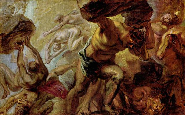 Sturz der Titanen - Peter Paul Rubens (Foto: CC0) - Praxis für Psychotherapie, Barbara Schlemmer, Dipl. Psychologin