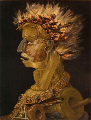 Das Feuer - Giuseppe Arcimboldi (Foto: CC0) - Praxis für Psychotherapie, Barbara Schlemmer, Dipl. Psychologin