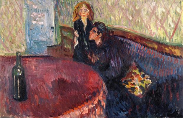 Begehren - Edvard Munch (Foto: CC0) - Praxis für Psychotherapie, Barbara Schlemmer, Dipl. Psychologin
