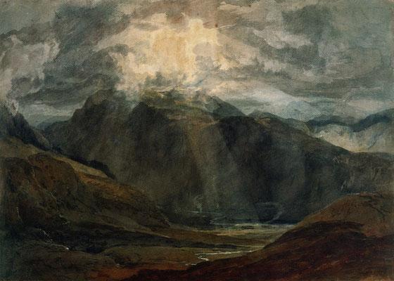 Sonnenschein im Gebirge William Turner (Foto: CC0) - Praxis für Psychotherapie, Barbara Schlemmer, Dipl. Psychologin