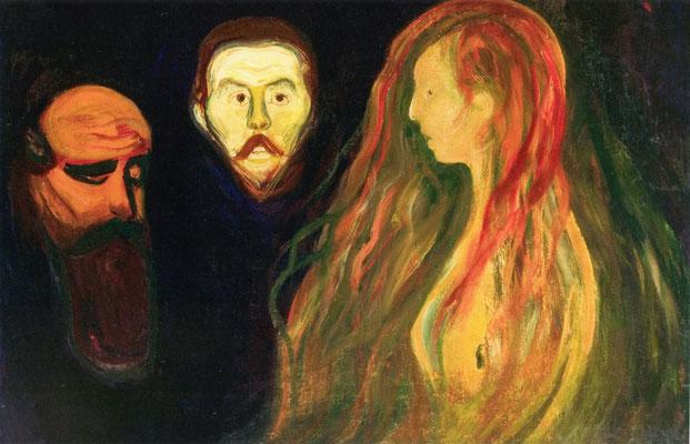 Tragödie - Edvard Munch (Foto: CC0) - Praxis für Psychotherapie, Barbara Schlemmer, Dipl. Psychologin