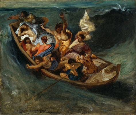Stillung des Sturms - Eugène Delacroix (Foto: CC0) - Praxis für Psychotherapie, Barbara Schlemmer, Dipl. Psychologin