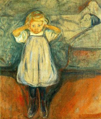 Das Kind und der Tod - Edvard Munch (Foto: CC0) - Praxis für Psychotherapie, Barbara Schlemmer, Dipl. Psychologin