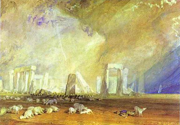 Stonehenge William Turner (Foto: CC0) - Praxis für Psychotherapie, Barbara Schlemmer, Dipl. Psychologin