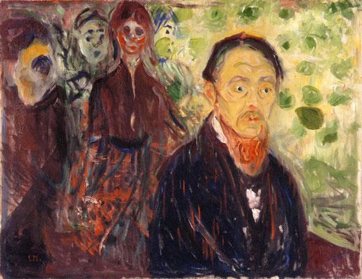 Überrascht sein - Edvard Munch (Foto: CC0) - Praxis für Psychotherapie, Barbara Schlemmer, Dipl. Psychologin
