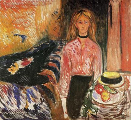 Die Mörderin - Edvard Munch (Foto: CC0) - Praxis für Psychotherapie, Barbara Schlemmer, Dipl. Psychologin