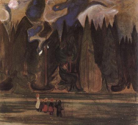Kinder im Wald - Edvard Munch (Foto: CC0) - Praxis für Psychotherapie, Barbara Schlemmer, Dipl. Psychologin