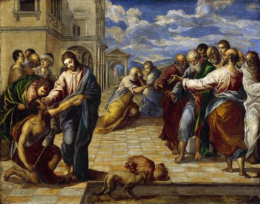 Heilung eines blinden und stummen Mannes - El Greco (Foto: CC0) - Praxis für Psychotherapie, Barbara Schlemmer, Dipl. Psychologin