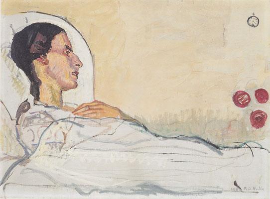 Valentine Godé-Darel im Krankenbett - Ferdinand Hodler (Foto: CC0) - Praxis für Psychotherapie, Barbara Schlemmer, Dipl. Psychologin
