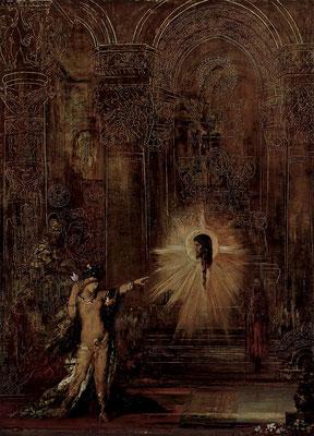 Die Erscheinung - Gustave Moreau (Foto: CC0) - Praxis für Psychotherapie, Barbara Schlemmer, Dipl. Psychologin