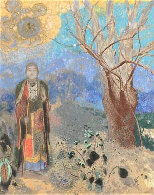 Buddha - Odilon Redon (Foto: CC0) - Praxis für Psychotherapie, Barbara Schlemmer, Dipl. Psychologin