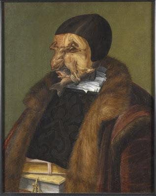 Der Jurist - Giuseppe Arcimboldi (Foto: CC0) - Praxis für Psychotherapie, Barbara Schlemmer, Dipl. Psychologin