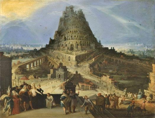 Der Turmbau zu Babel -  Hendrick van Cleve III (Foto: CC0) - Praxis für Psychotherapie, Barbara Schlemmer, Dipl. Psychologin