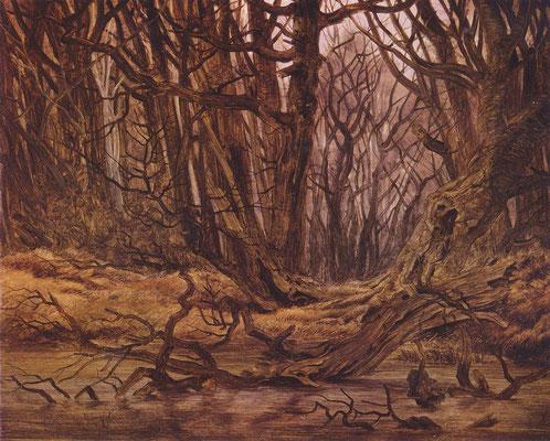Wald im Spätherbst - Caspar David Friedrich (Foto: CC0) - Praxis für Psychotherapie, Barbara Schlemmer, Dipl. Psychologin