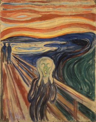 Der Schrei - Edvard Munch (Foto: CC0) - Praxis für Psychotherapie, Barbara Schlemmer, Dipl. Psychologin