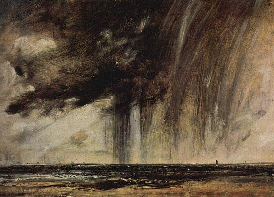 Regenwolken - John Constable (Foto: CC0) - Praxis für Psychotherapie, Barbara Schlemmer, Dipl. Psychologin