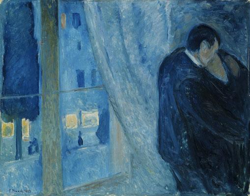 Der Kuss - Edvard Munch (Foto: CC0) - Praxis für Psychotherapie, Barbara Schlemmer, Dipl. Psychologin