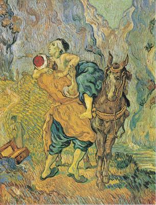 Der barmherzige Samariter - Van Gogh (Foto: CC0) Praxis für Psychotherapie, Barbara Schlemmer, Dipl. Psychologin