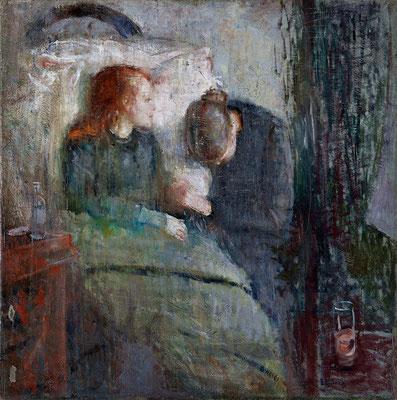 Das kranke Kind - Edvard Munch (Foto: CC0) - Praxis für Psychotherapie, Barbara Schlemmer, Dipl. Psychologin
