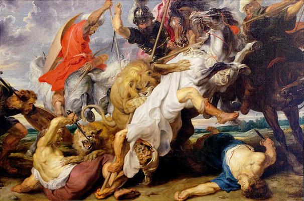 Löwenjagd - Peter Paul Rubens (Foto: CC0) - Praxis für Psychotherapie, Barbara Schlemmer, Dipl. Psychologin