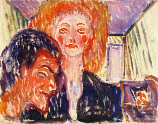 Hass - Edvard Munch (Foto: CC0) - Praxis für Psychotherapie, Barbara Schlemmer, Dipl. Psychologin