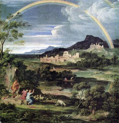 Landschaft mit Regenbogen - Joseph Anton Koch (Foto: CC0) - Praxis für Psychotherapie, Barbara Schlemmer, Dipl. Psychologin