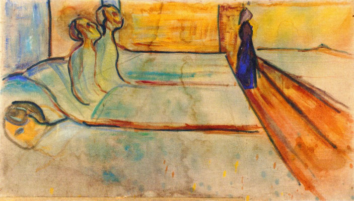 Krankenstation - Edvard Munch (Foto: CC0) - Praxis für Psychotherapie, Barbara Schlemmer, Dipl. Psychologin