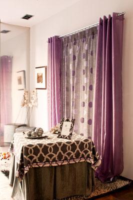 escaparate cortinas ambientes hogar martos