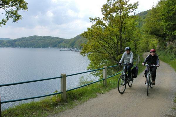Radtour Rursee