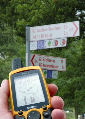 Wandern GPS