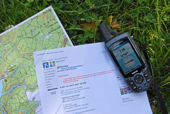 Geocaching GPS