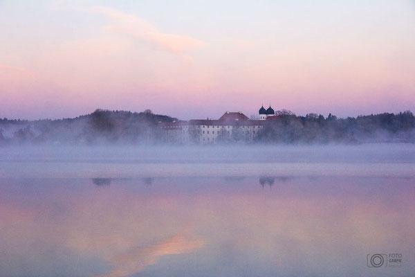 Kloster Seeon mit See