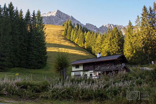 Grassl Brennhütte auf der Eckerleiten