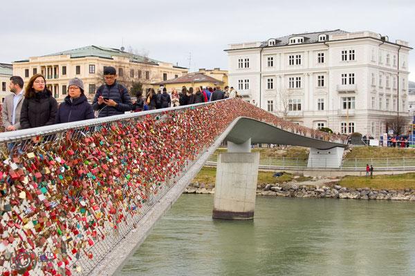 Salzburg Brücke Salzach