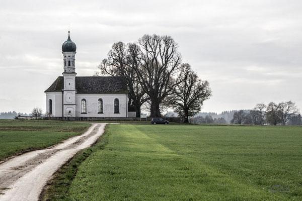Kirche bei Polling
